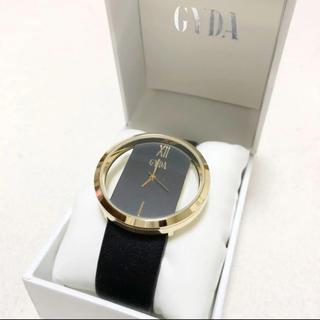 ジェイダ(GYDA)の【未使用】GYDA/ジェイダ☆クリアケースウォッチ ノベルティ腕時計(ノベルティグッズ)