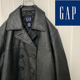 ギャップ(GAP)の美品 90年代 オールドギャップ レザージャケット 革ジャン(ライダースジャケット)