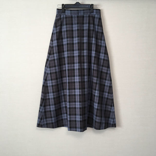 LEPSIM - LEPSIM*チェックロングスカート