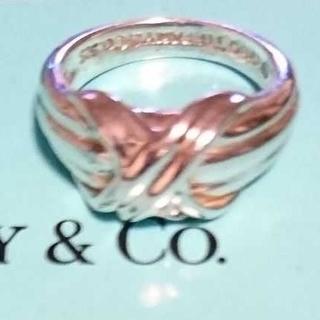 Tiffany & Co. - ティファニー signatureリング 8号