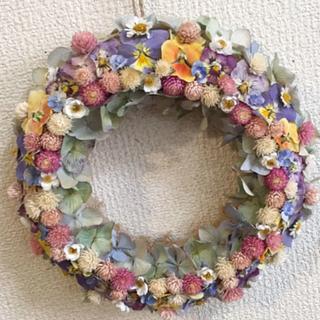 NEWビオラと小花の花*花モリモリリース
