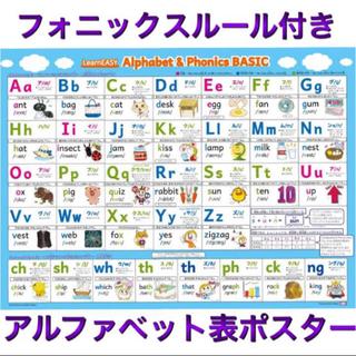 フォニックス説明つき!アルファベット&フォニックス表ポスター