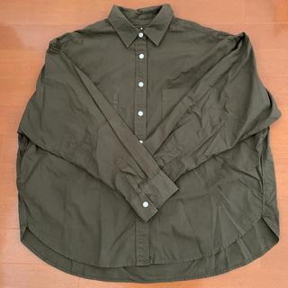 MUJI (無印良品) - 美品!お買い得!MUJIブロードシャツ