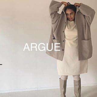 ロンハーマン(Ron Herman)の新作☆ARGUE Australia pure wool mossa coat(ピーコート)