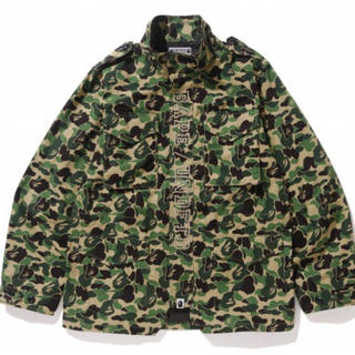 A BATHING APE - 【S】 BAPE X UNDEFEATED ABC M-65 JACKET