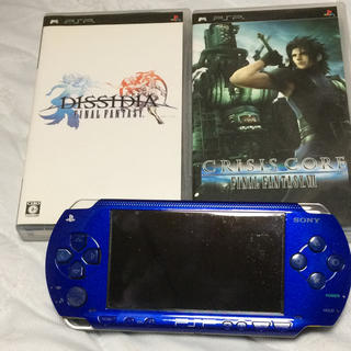 PlayStation Portable - PSP 本体 と ソフト2本