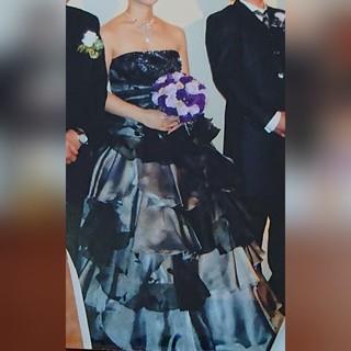 神田うの  ウェディングドレス  色ドレス(ウェディングドレス)