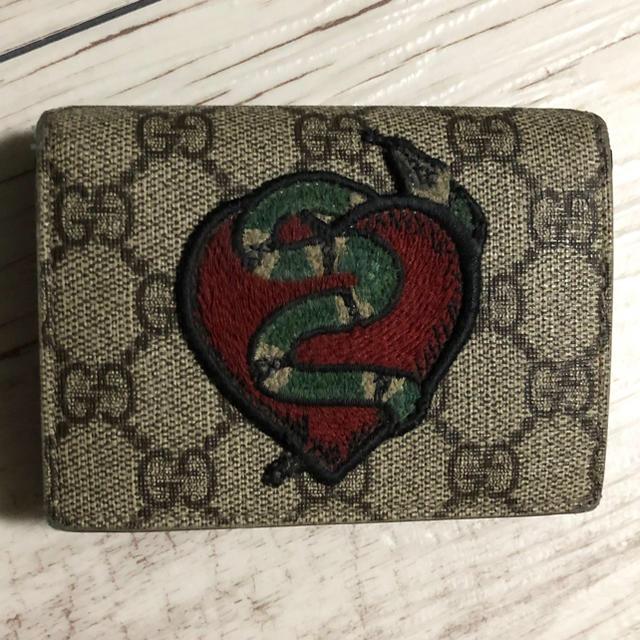 スーパーコピー 時計 通販 40代 、 Gucci - グッチ GUCCI 二つ折り財布 スネーク スプリーム の通販 by チッチSHOP