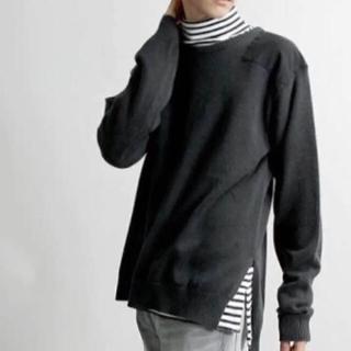 ウィゴー(WEGO)のWEGO セーター 黒 M(ニット/セーター)