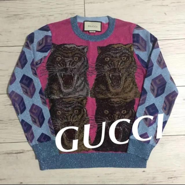 ウブロ 時計 スーパー コピー | Gucci - グッチ ミケーレ  タイガー ニット Mサイズの通販 by チッチSHOP