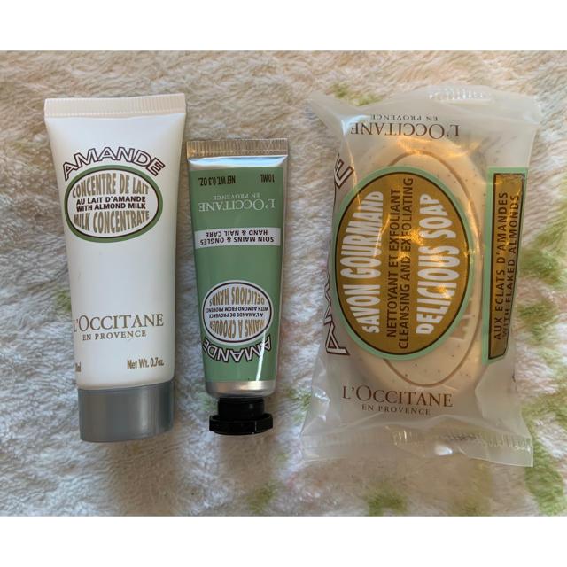 L'OCCITANE(ロクシタン)のロクシタン ハンドクリーム アーモンド セット コスメ/美容のボディケア(ハンドクリーム)の商品写真