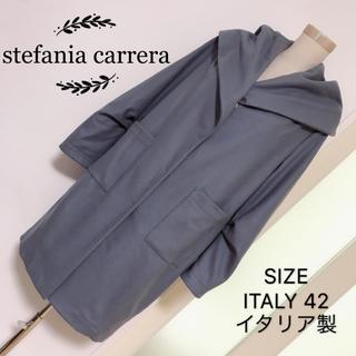 stefania carrera ウール素材 ロングコート(ロングコート)