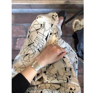 BEAUTY&YOUTH UNITED ARROWS - 6 beauty&youth フロント釦スカート ほぼ新品