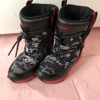ムーンスター(MOONSTAR )のスノーブーツ 18センチ(ブーツ)