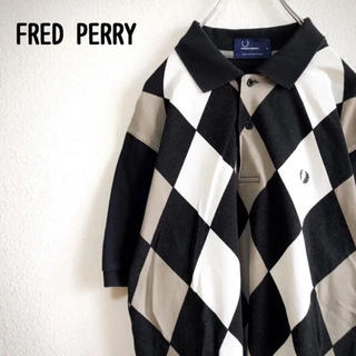 FRED PERRY - 【レア】 FRED PERRY フレッドペリー ポロシャツ メンズ 半袖 黒 S