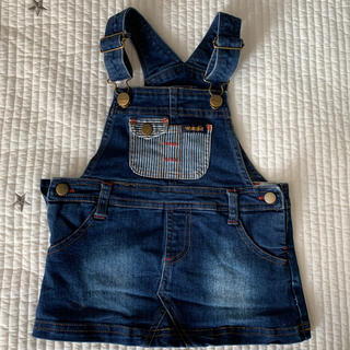 ベビーギャップ(babyGAP)のラングラー ジャンパースカート(ワンピース)