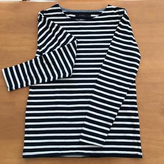 レイジブルー(RAGEBLUE)の値下げ RAGEBLUE ボーダーカットソーMサイズ(Tシャツ/カットソー(七分/長袖))