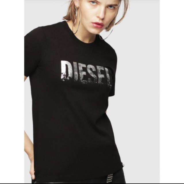 DIESEL(ディーゼル)のディーゼルXS レディースのトップス(Tシャツ(半袖/袖なし))の商品写真