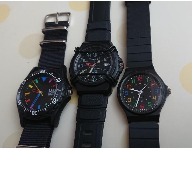 CASIO - 腕時計 3本の通販