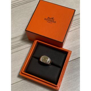 Hermes - HERMES  vintage  serie  ring  18k