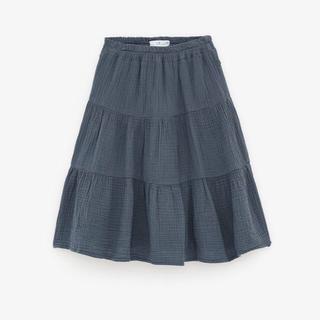 ZARA KIDS - ZARA kids テクスチャー素材スカート 164センチ