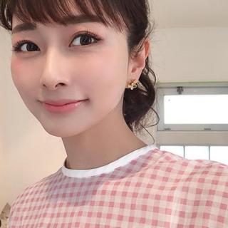 Chesty - obli オブリ ギンガムチェックシャツ  トップス ピンク