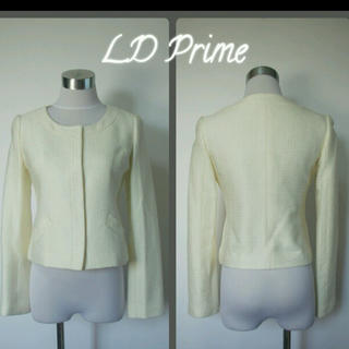 プライムパターン(PRIME PATTERN)の新品ldprime プライムパターン白ジャケット 入学式 入園式 七五三 スーツ(ノーカラージャケット)