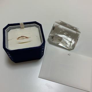 ヨンドシー(4℃)の4℃ リング K10 ピンクゴールド(リング(指輪))
