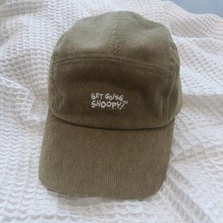 スヌーピー(SNOOPY)のSHOOPEN 韓国 スヌーピー コラボ キャップ(キャップ)