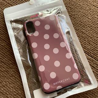 ローリーズファーム(LOWRYS FARM)の新品日本製☆Me% ミラー&カード収納付きiPhoneX、Xsケース(iPhoneケース)