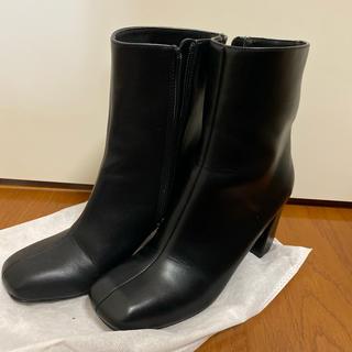 マウジー(moussy)のmoussy 黒ブーツ(ブーツ)