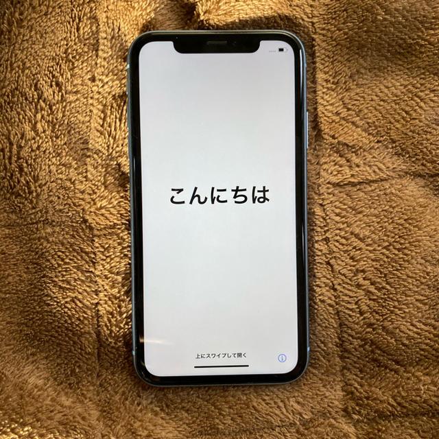 iPhone(アイフォーン)のiPhoneXR 64GB SIMフリー スマホ/家電/カメラのスマートフォン/携帯電話(スマートフォン本体)の商品写真