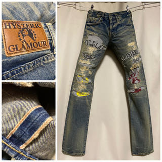 HYSTERIC GLAMOUR - 定価5万円 HYSTERIC GLAMOUR デニム 28 キムタク着 松潤着