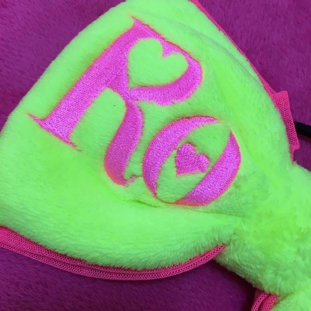 RONI(ロニィ)の新品★訳ありRONI★もこもこリボン★イエロー大 キッズ/ベビー/マタニティのこども用ファッション小物(その他)の商品写真