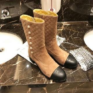 CHANEL - CHANEL 大人気 ブーツ 22.5-24.5cm