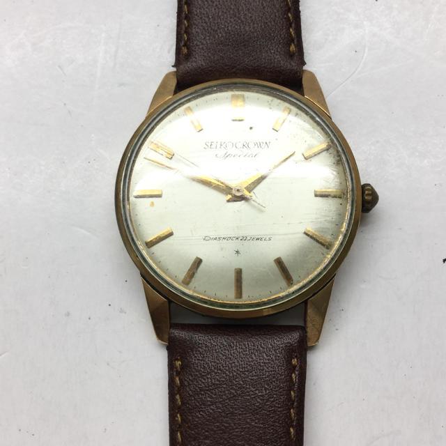 SEIKO - SEIKO CROWN 腕時計の通販