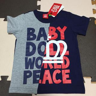 BABYDOLL - 新品タグ付 ベビードール Tシャツ BABYDOLL 110 半袖 綿100%