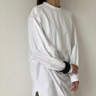 トゥデイフル(TODAYFUL)の新品 todayful ヴィンテージドレスシャツ ホワイト(シャツ/ブラウス(長袖/七分))