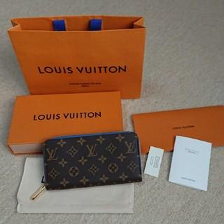 LOUIS VUITTON - 未使用品 ルイヴィトン モノグラム ジッピーウォレット M63894 青