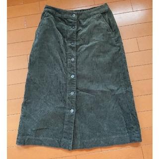ユニクロ(UNIQLO)のUNIQLO コーデュロイスカート(ひざ丈スカート)
