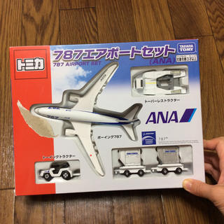 タカラトミー(Takara Tomy)のトミカ 飛行機 787エアポート セット ANA(電車のおもちゃ/車)