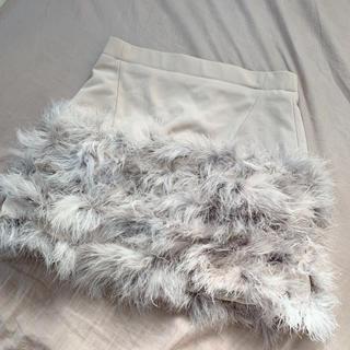 Lily Brown - リリーブラウン  フェザースカート