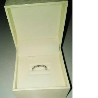 捨値  K18WGダイヤモンドリング