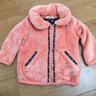 アコバ(Acoba)の女の子 子供服 80 ピンク ふわふわ Acoba(送料込みに変更)(ジャケット/コート)