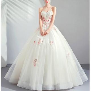 パーティードレス フォーマル 結婚式 二次会 女子会 お呼ばれ XS~XXXL(ウェディングドレス)