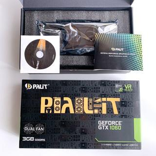 動作確認済 Palit GeForce GTX1060 Dual 3GB