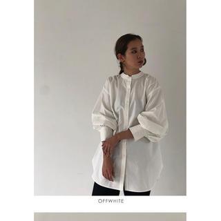 トゥデイフル(TODAYFUL)のトゥデイフル 2wayスタンドカラーシャツ オフホワイト(シャツ/ブラウス(長袖/七分))
