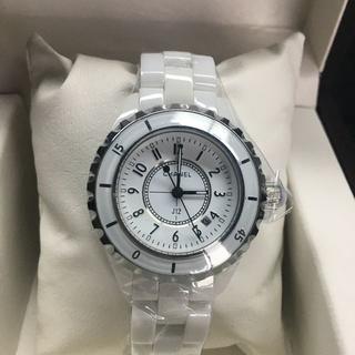 CHANEL - シャネル 腕時計 女性用 ホワイト 33mm j12
