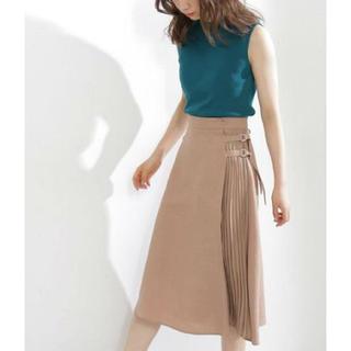 PROPORTION BODY DRESSING - 新品★プロポーションボディドレッシング  膝丈スカート ベージュ