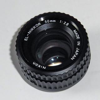 ニコン(Nikon)のNIKON EL-NIKKOR 50mm f2.8 引き伸ばし機用レンズ(暗室関連用品)